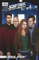 Star Trek The Next Generation/Doctor Who: Assimilation2 #7 - Retailer Incentive Cover